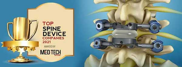 Top 10 Spine Device Companies - 2021