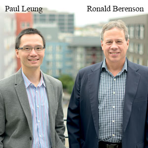 Paul Leung, PE, VP of Operations and Ronald Berenson, MD, President and CEO , KitoTech Medical