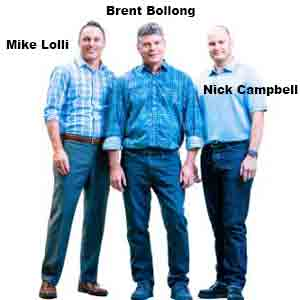 Mike Lolli, CFO, Brent Bollong, President and Nick Campbell, Operations Manager,  Auer Medical
