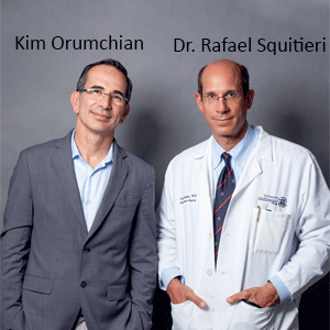 Kim Orumchian, CEO and Dr. Rafael Squitieri, Co-Founder & CTO, TurnCare