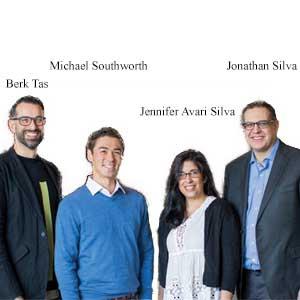 Berk Tas, President & CEO, Michael Southworth, Co- Founder & VP of Technology, Jennifer Avari Silva, Co-Founder & CMO and Jonathan Silva, Co-Founder & CTO, SentiAR