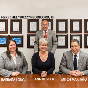"HERSCHEL ""BUZZ"" PEDDICORD, III, FOUNDER & CEO and BARBARA LONG, CFO and ANN KOVECK, CCO and MITCH MARITATO, COO, InControl Medical"
