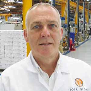 Ian Stead, Managing Director, Iota