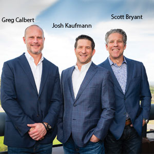Greg Calbert, Principal, Josh Kaufmann, Principal and Scott Bryant, Principal, Genesys Spine