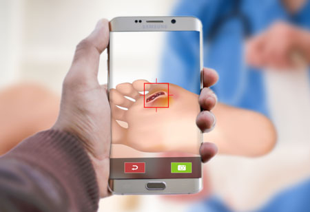 How Mobile Applications Better Wound Care