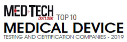 Top 10 Medical Device Testing and Certification Companies - 2019