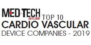 Top 10 CardioVascular Device Companies - 2019