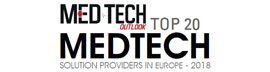 Top 20 MedTech Solution Companies in Europe - 2018